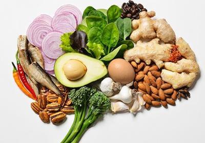 یک روز کامل از خوردنیهای مفید برای مغز اینچنین است