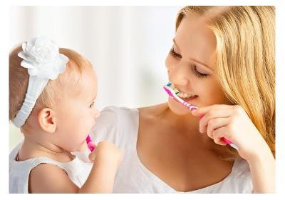 بهترین زمان برای مسواک زدن کودکان