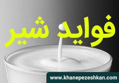 فواید شیر برای سلامتی