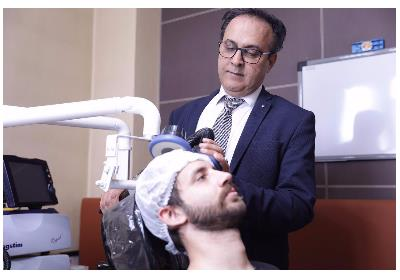 RTMS دستگاه تحریک مغناطیسى مغز برای درمان افسردگی