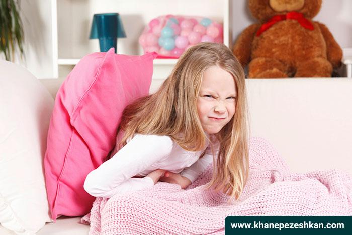 علت و درمان دل درد در کودکان