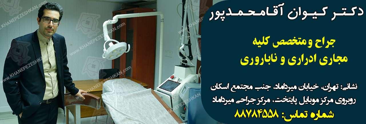 دکتر کیوان آقامحمدپور