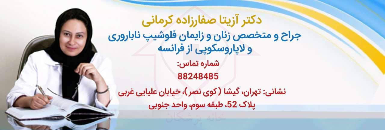 دکتر آزیتا صفارزاده کرمانی