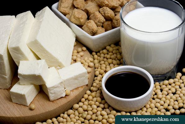 پروتئین سویا یا کشک