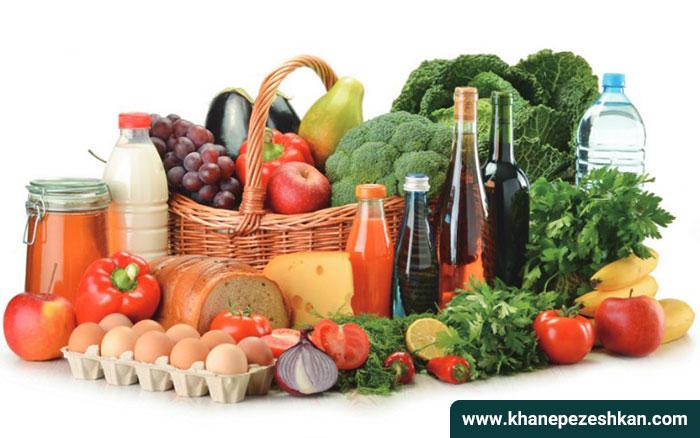 مواد غذایی شامل پروتئین