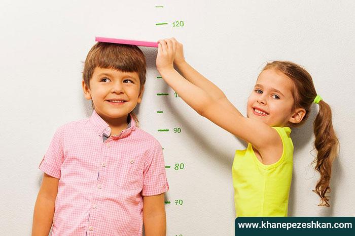 چگونگی افزایش قد در کودکان
