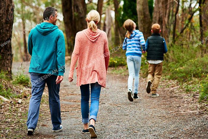 7 تاثیر فوق العاده پیاده روی روزانه