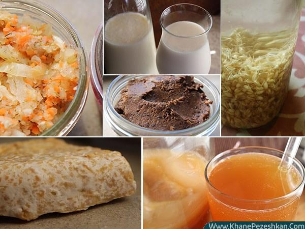 تخمیر چیست و فوائد و مزایایی استفاده از مواد غذایی تخمیری