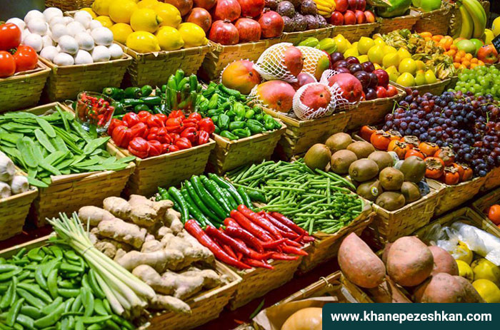 میزان مواد غذایی مورد نیاز روزانه بدن