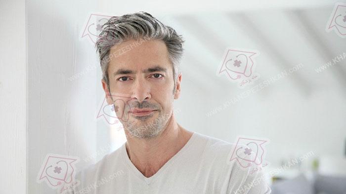 دلایل سفید شدن مو و درمان آن